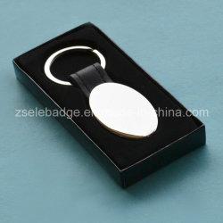OEM-Lederlegierung Schlüsselanhänger in Box für Werbegeschenke (ELE-K120)