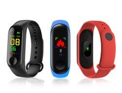 2021 Meilleur vendeur Tracker Fitness Sport homme fréquence cardiaque étanche Wearable M3/B16