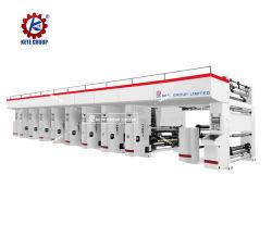 Высокая скорость OPP CPP MPET Mopp термоусадочная пленка ПВХ Gravure принтера печатной машины