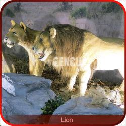 تماثيل ملك الحيوانات أسد الحيوانات الآلبوتية