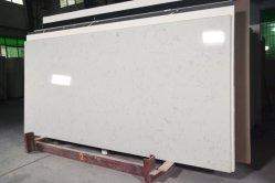 新しいニースの設計 countertop の台所のための白い人工水晶石 上( Top )