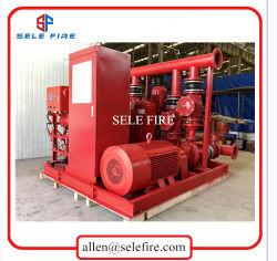 UL/FM de goedgekeurde Diesel van de Jockey van het Systeem van de Brandbestrijding van Edj van de Fabrikant van China Elektrische Pomp van de Brand