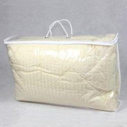 Effacer PE/Sac en PVC transparent pour l'emballage plastique couette couverture en duvet avec des poignées de la Courtepointe zipper