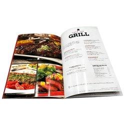 Catalogue de produits internationale Brochure de la soie, de l'impression d'encre mat de vernis