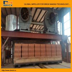Carrello del forno del forno di traforo per l'essiccatore di secchezza del traforo dei mattoni dell'argilla