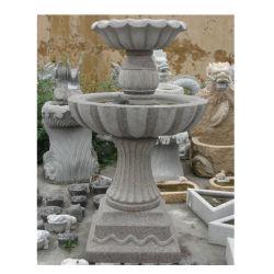 Chafariz de granito exterior barata Stone Garden Products lado entalhado