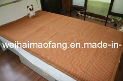 Тканый шерстяной шерсть отель одеяло (NMQ-WT008)