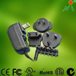 Universalität steckt Wechselstrom-Gleichstrom-Adapter mit auswechselbarem Stecker-Energien-Adapter ein