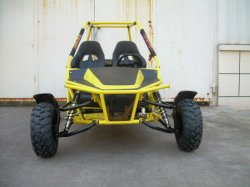 150cc Two Seats en het Go-kart van Chain Drive Adult Racing (KD 150GKM-2)