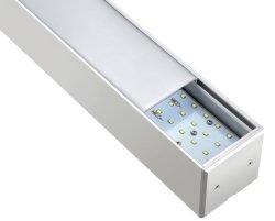 LED Linear Light Suspension Pendant Light Fixture voor kantoorverlichting Binnenverlichting
