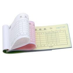 Papeterie de bureau et d'école de haute qualité A5 papier de rechange pour carnets en plomb, bon de livraison, connaissement, reçu, reçu non carbone