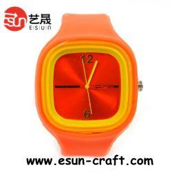 2013년 사랑스러운 아이템 인기 디자인 실리콘 시계 남성용(SW015)