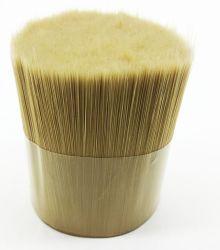 Fibras sintéticas de cerdas imitado pincéis para pintar Filament PBT Cônico Pet filamentos de fibra para pincéis para pintar, escovas de acrílico