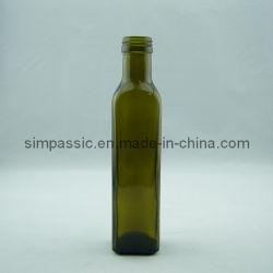 暗緑250ml Marasca Square Olive Oil Bottle (SG1322L)