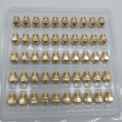 금관 악기 스테인리스 3D 인쇄 기계 분사구를 기계로 가공하는 높은 정밀도 주문을 받아서 만들어진 CNC