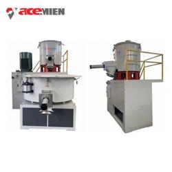 Plástico de alta velocidad en polvo de PVC WPC / Unidad Mezcladora horizontal o vertical de mezcla fría caliente Ce