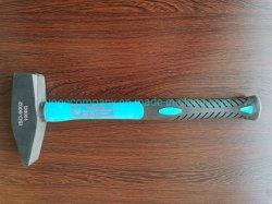 Matériel et outil à main 3.3lb/1500g d'ingénieurs machiniste grève Marteau de forgeron Club/fibre de verre Poignée en bois