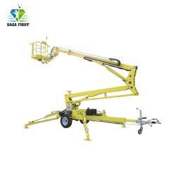 10m~18m hydraulische Luftplattform-Towable Armkreuz-Wannen-artikulierender Hochkonjunktur-Aufzug