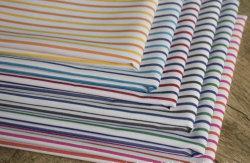 Streifen-Polyester-Baumwollgarn-gefärbtes Gewebe Shirting