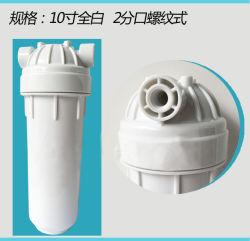 """Alojamento do Filtro de água de 10"""" Claro/Purificador de Água/Cilindro de tratamento de água em casa o canister Qy-10h-U"""
