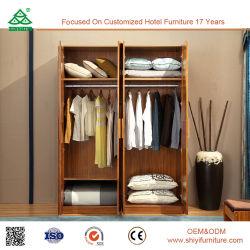 De estilo europeo clásico caliente Venta de muebles de dormitorio armario de madera maciza
