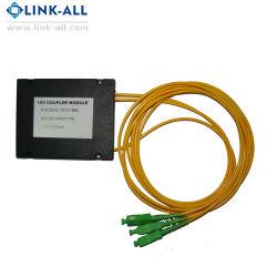 Gpon Epon 원거리 통신 플라스틱 상자 섬유 쪼개는 도구 아BS PLC 모듈 (1X2/4/8/16/32, 2X2/4/8/16)