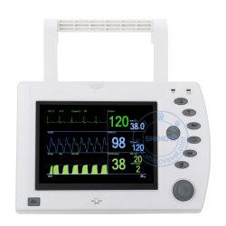 Draagbare ECG, Temperaturen, SpO2 & van Co2 Dierlijke Monitor (Capno 2B)