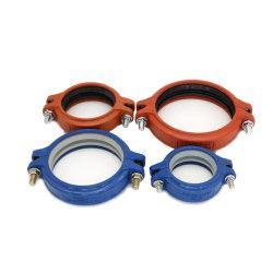FM/ULによって証明された投げる延性がある鉄のエポキシはまたは火災安全または鉱山または配水管またはケーブルまたは地下鉄または交通機関のための赤くか青の管付属品を塗るか、または電流を通した