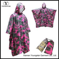 Multifonction Poncho de pluie Étanche de camouflage militaire pour les adultes