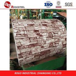 PVC filmé l'acier, bois/en marbre/brique du grain, RAL 9010, une chambre propre panneau sandwich R