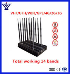 Jammer Teléfono móvil/ Jammer GPS/4G (Jammer SYSG-872)
