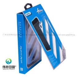 Impressão a Cores Personalizadas Tampa Telefone Caixa de embalagem de papel com cabide
