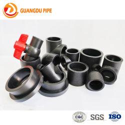 Solda de fusão de soquete Pn 16 de HDPE para tubos de abastecimento de água