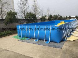 De beweegbare metaalframe de vijver van douanevissen tank van de kweken van vispool
