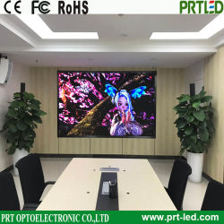 Panel LED para interiores de alta resolución de pantalla HD de la publicidad en televisión (P1.25, P1.56)