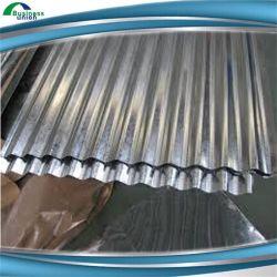 建設プロジェクト波形に亜鉛コーティングの鋼鉄に屋根の広がること