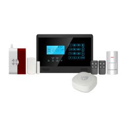 Le réseau RTC à composition automatique du système d'alarme de sécurité w ith 99 Zone sans fil