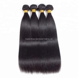 Верхняя 12A к категории один волос Doner 100% необработанные оптовой Virgin бразильского шелковистой прямые волосы продления волос человека