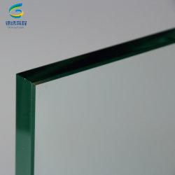 Commerce de gros prix d'usine 19mm Fer basse en verre trempé en Chine
