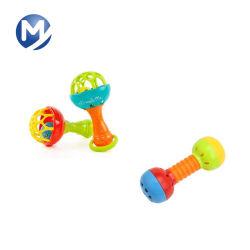 Herramienta de inyección de plástico para el bebé de juguete el traqueteo de la vibración del anillo de campana