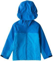Дождевик мальчиков Outerwear трость Супер легкий водонепроницаемый Дышащий Windcheater слой с кожухом в дождливую погоду учебного дня