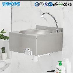 Heavybao Acero Inoxidable en la pared de la cuenca del lavado de manos libres