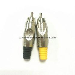 De Schakelaar RCA van uitstekende kwaliteit voor Audio/Video/Radio/Professionele Spreker/Elektrische Gitaar/Correcte Doos/Televison/Luide Spreker/Computer/Monitor/Muzikale Instrumenten