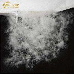 El plumón de pato relleno de plumas y tejido de algodón