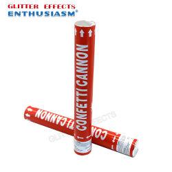 Preiswerter Fabrik-Preis-Mischungs-Farbeconfetti-Gefäß-Partei Popper Tonhöhenschwankungconfetti-Stock für Hochzeit