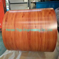 Großhandel Fabrik gedruckt Holz PPGL RAL vorlackiert Galvalume Stahl Coils