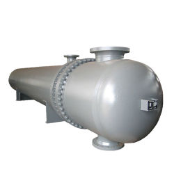 El agua de vapor de aceite de acero inoxidable tubo de doble tubo de Shell y aletas de refrigeración intercambiador de calor de las plantas y equipos