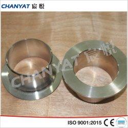 A403 (WP304L, WP316L, WP317) de acero inoxidable tubo solapada de montaje