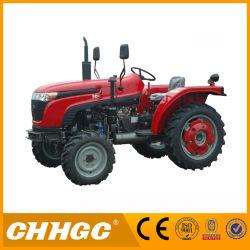 La tracción 4X4 y 12f+12r cambio de velocidades de 50 tractor agrícola