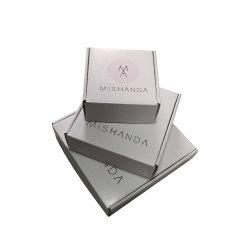 Venda por grosso de expedição de produtos personalizados impressão papel cartão Caixa de Embalagem